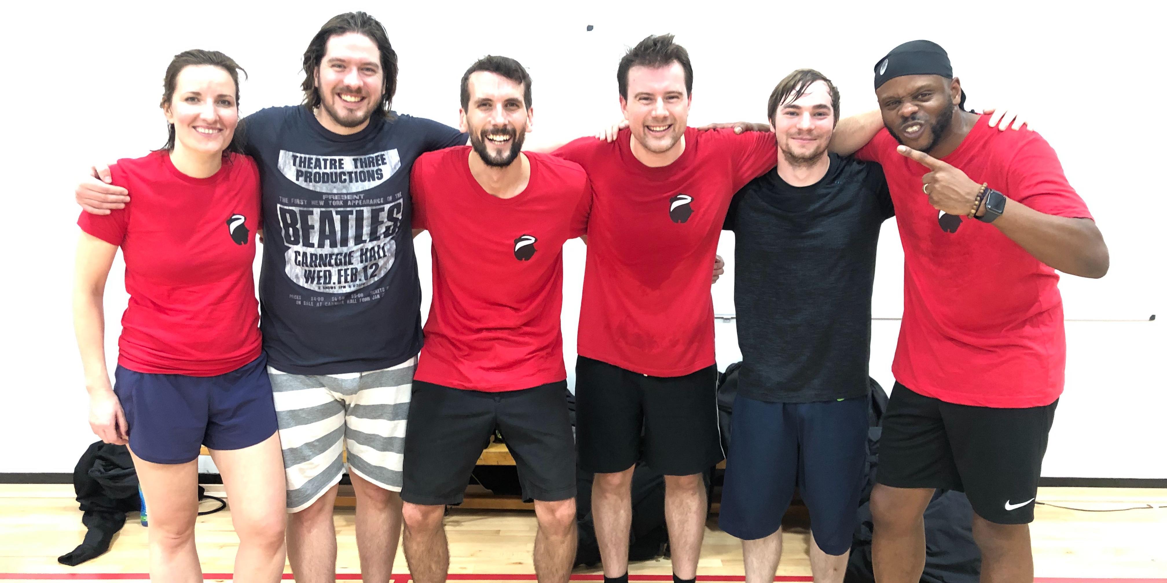Our dodgeball team