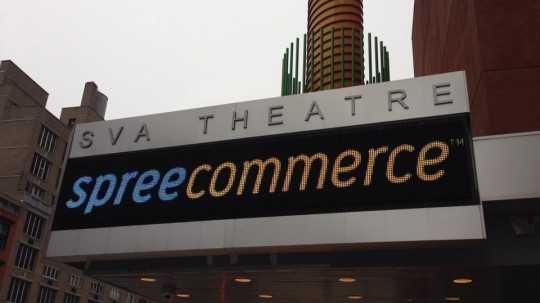 A picture of the SVA theatre- spreecommerce.
