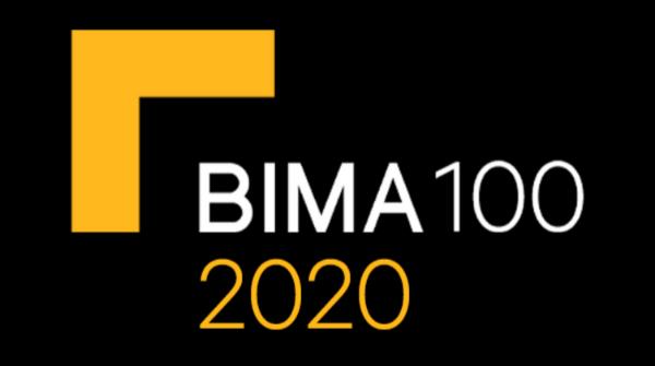 BIMA100 Badge