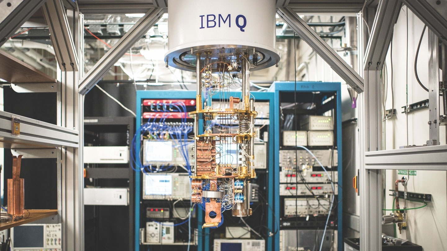 A picture of the IBMQ