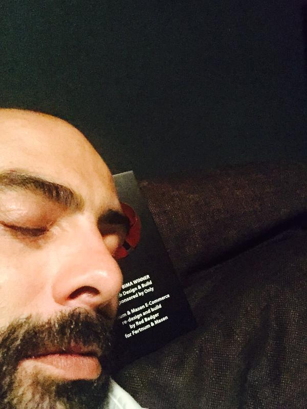 sleepy CEO