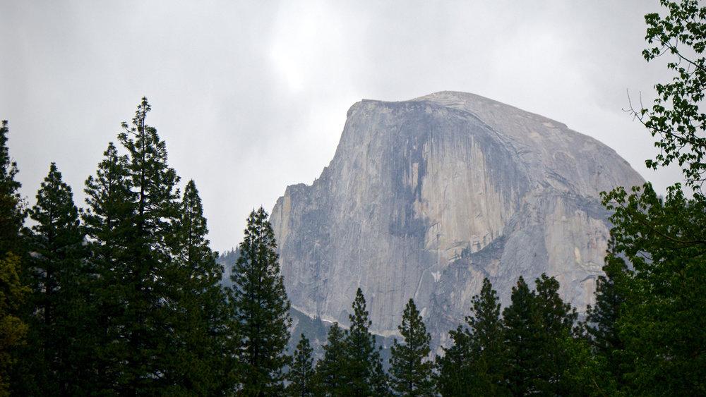 Half Dome peak