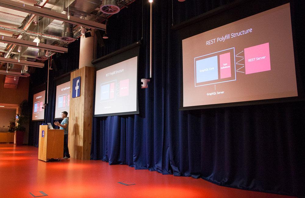 GraphQL talk at React meetup