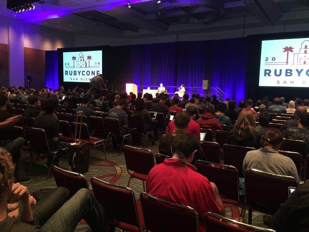 RubyConf - San Diego Convention Center