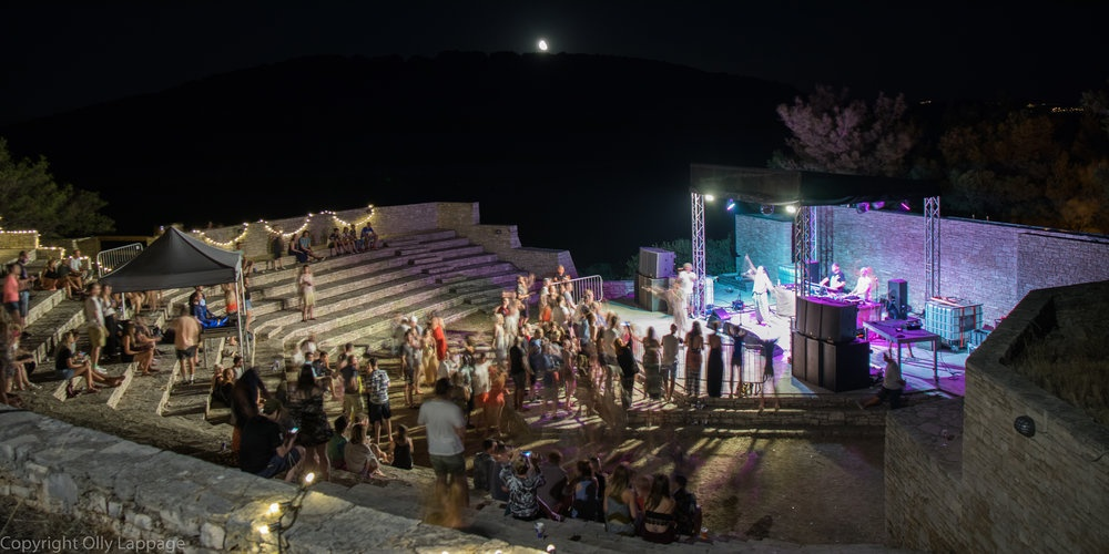 Amazing performance by Hercules & Love Affair in the amphitheatre on Saturday night