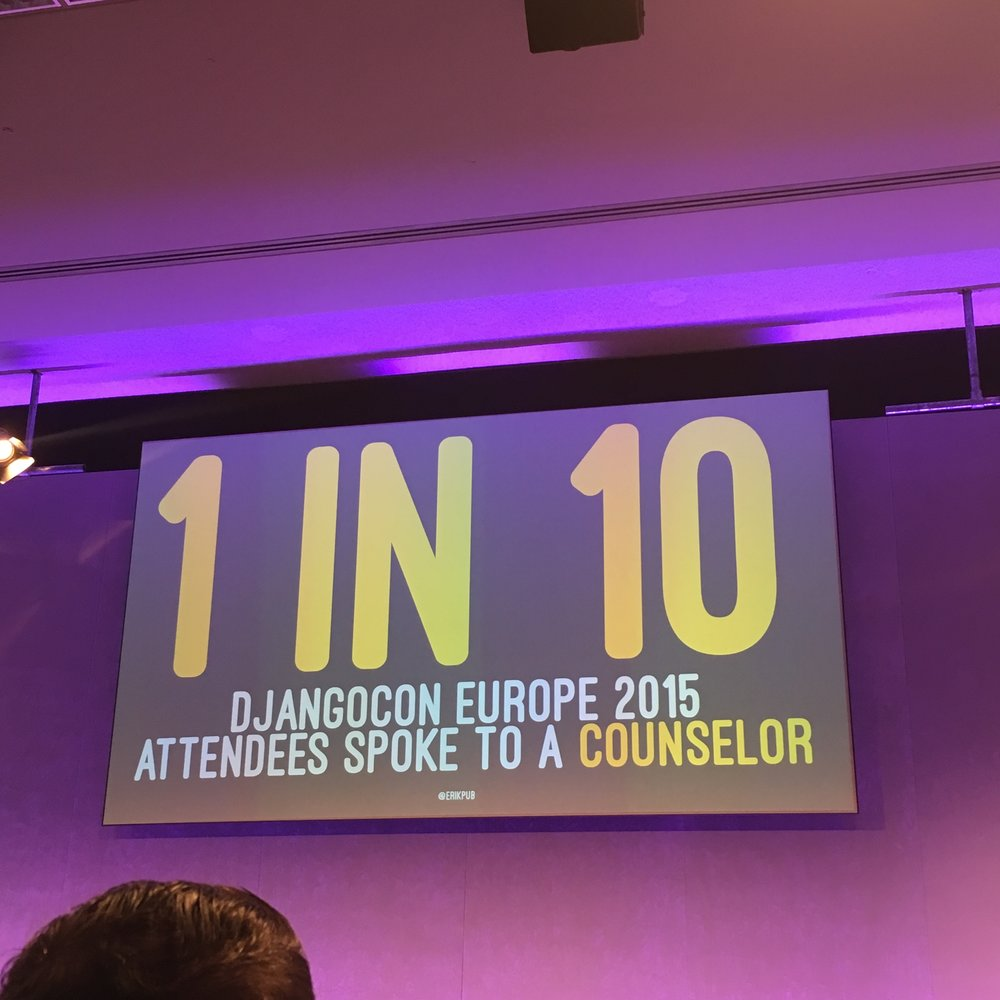 A great statistic to highlight mental health awareness