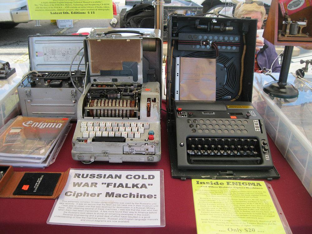 Fialka ciphering machine