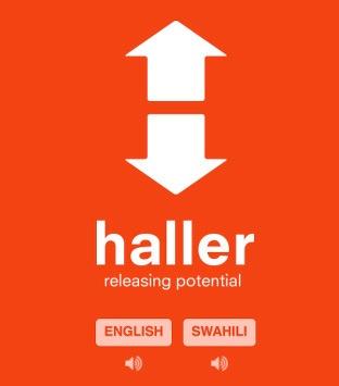 Haller web app