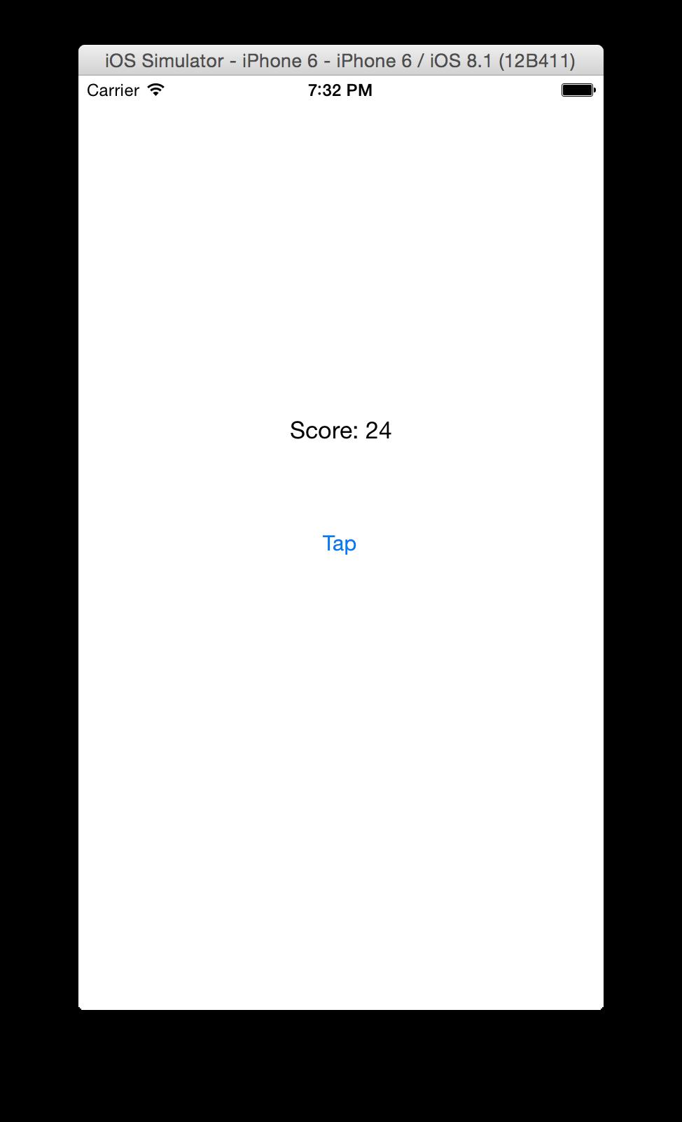 Tappy Button screenshot