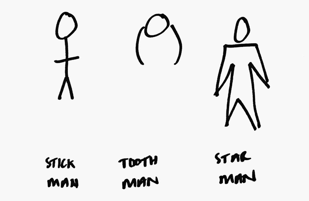 The evolution of Star Man