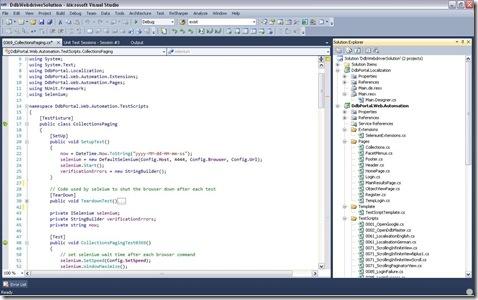 MS Visual Studio C Sharp Framework