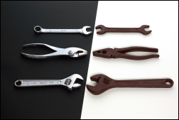 Chocolate Tools by Janne Moren